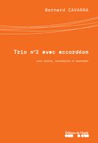 Trio avec accordéon  numéro 2 violon, violoncelle, accordéon (2004)