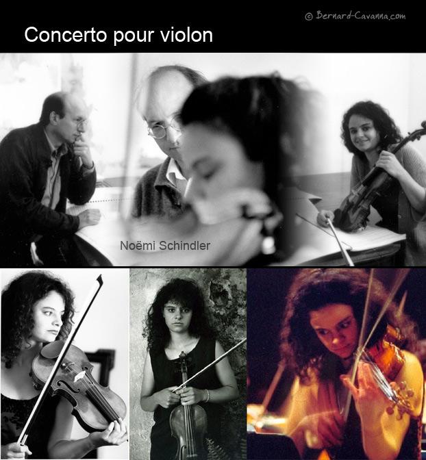 Concerto pour violon Version pour orchestre (1998-1999)