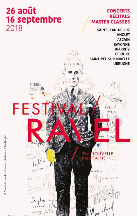 27 au 30 août 2018 - Saint-Jean-de-Luz Académie International Maurice Ravel