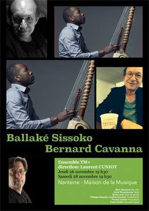 26 et 28-11-2015, Nanterre - Maison de la musique 19h30 - Auditorium Rameau