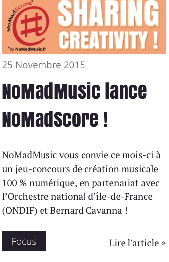 17-01-2016 - 16h30 Philharmonie de Paris,