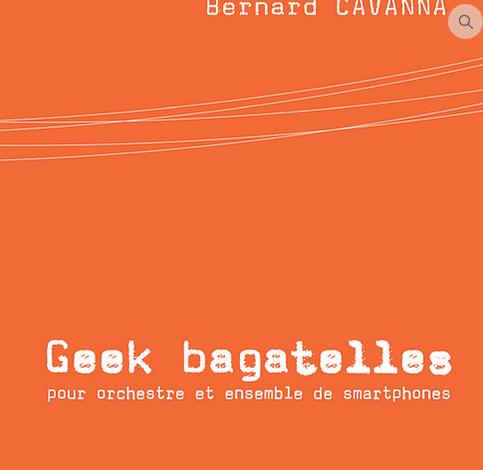 GEEK BAGATELLES pour orchestre 4 février - Soissons