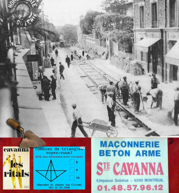 Bernard Cavanna et les Maçons  Bernard Cavanna and the Masons
