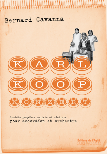 KARL KOOP KONZERT  - Pascal Contet/EOC/Daniel Kawka création version de chambre